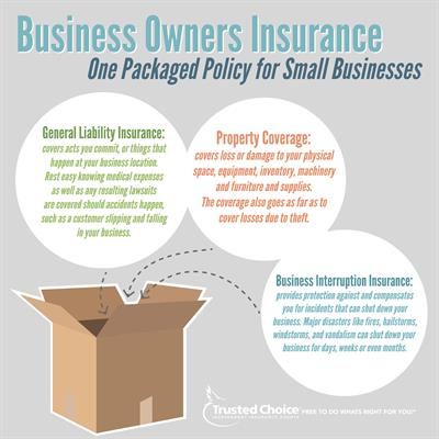 Business Owners Insurance Package Policy