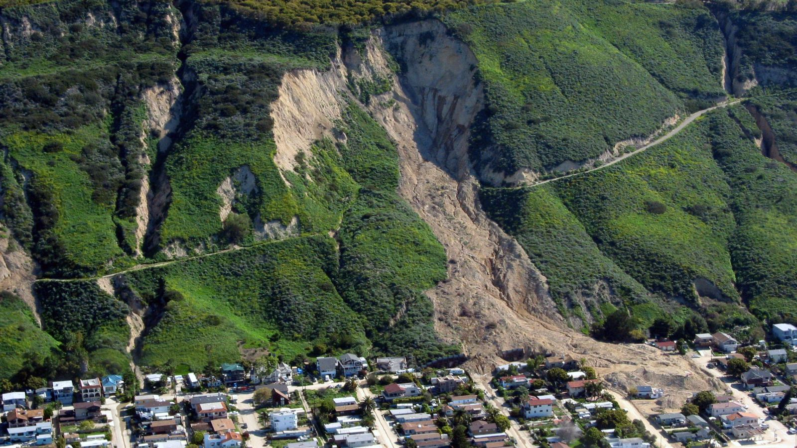 Landslide Is Not Construction Defect